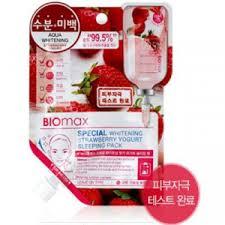 Biomax Special: <b>Отбеливающая ночная маска с</b> йогуртом и ...