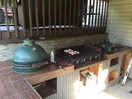 built in griddle for outdoor kitchen kitchen decor design ideas