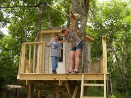 kids tree houses with zip line. Delighful Zip Testing The Zip Line Landing Living Like Kings Burys Castle In Trees  Part Two Tree Amazing Treehouse  Kids Tree Houses With