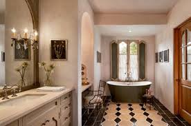 French country bathroom designs Hollywood Deco French Country Bathroom With Earth Tones The Spruce 19 French Country Bathroom Design Ideas