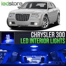 Chrysler 300c Interior Lights Details About 2005 2010 Chrysler 300 Blue Interior Led Lights Kit Package