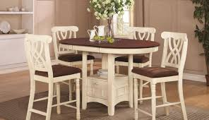 chairs round distressed height counter sets whitesburg set small off dining tables antique black fascinating seats