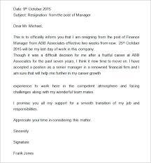 sophisticated Short Notice Resignation Letter with Manager Resignation Letter and Resignation Letter Sad to Leave