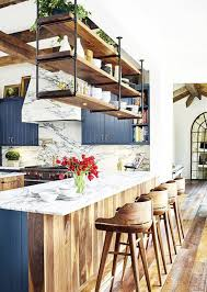Kitchen: Beautiful Rustic Kitchen With Natural Lights - Vintage Kitchen