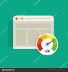 Website speed loading time vector icon, web browser seo Stock Vector Image  by ©vladwel #131133090