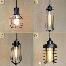 edison bulb pendant lighting vintage retro antique creative personality bulb pendant lights brief hanging pendant lamps