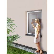 Insektenschutzrahmen Für Fenster Aluminium 80 Cm X 100 Cm Weiß