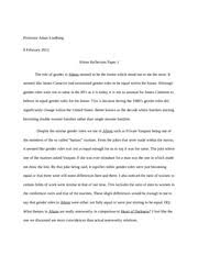do the right thing essay professor adam lindberg literature of  1 pages aliens reflection notes