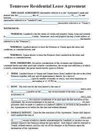 12 Month Lease Agreement Template – Tangledbeard