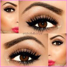 cute eye makeup ideas for brown eyes 12 jpg