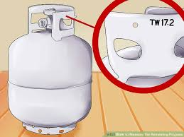 Propane Tank Weight Chart How To Measure The Remaining Propane 6 Steps With Pictures