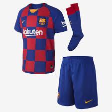 20 Barcelona Forması Küçük Futbol Çocuk Fc Home 2019