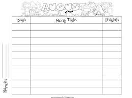 First Grade Reading Log Monthly Reading Logs Reading Logs Reading Workshop First