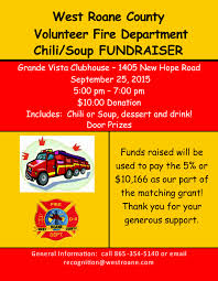 chili supper flyer 9 25 west roane vfd chili soup supper to raise fire truck matching
