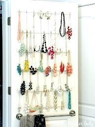 hanging jewelry storage jewellery hanging storage best necklace storage  ideas on necklace hanger necklace holder and . hanging jewelry storage  necklace ...