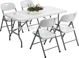 resin table and chairs brilliant portable folding chair set plastic dining with 4