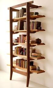 luxury wooden furniture storage. Modern Luxury Office Leaning Shelves Storage Furniture Design City Joinery Brooklyn NYC Wooden