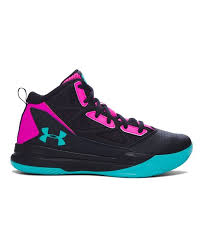 under armour girls basketball shoes. under armour girls\u0027 grade school ua jet mid basketball shoes synthetic upper with molded quarter girls