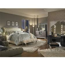 Hollywood Swank Pearl King Platform Bed