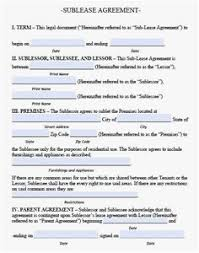 23 Lease Agreement Template Free Examples | Template Design Ideas