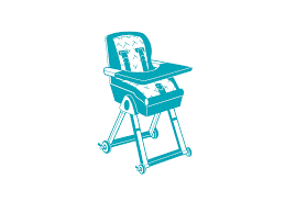 how to a highchair