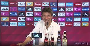 Rueda de prensa internacional de Thomas Müller: