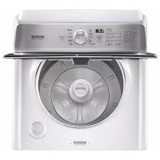 High Efficiency Clothes Washers Mvwb766fw Maytag 47 Cu Ft High Efficiency Top Load Washer With