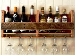 image of diy wine glass rack