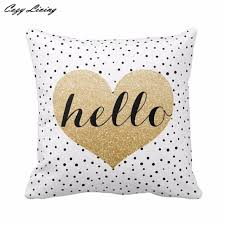 Polka Dot Pillowcases Delectable Pillow Cases 332cm332cm 32 Colors Hello Printed Soft Pillow Cases