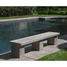 cast stone garden benches kinsey