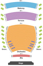 First Interstate Center For The Arts Seating Chart The Bachelor Live On Stage Tickets Sun Mar 8 2020 7 00