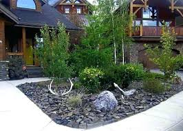 front yard landscaping ideas with rocks no grass rock impressive interior81 landscaping