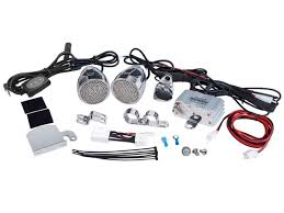 sound system accessories. pyle - plmca62bt 600 watt bluetooth sound system for motorcycle/atv/snowmobile with accessories \