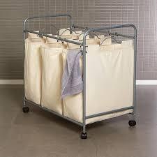 organizer triple sorter laundry hamper — sierra laundry