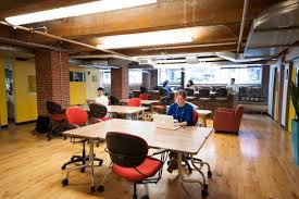 charming neuehouse york cool offices. Boston\u0027s First Coworking Space, Workbar, Is Also The City\u0027s Most Charming, And Worth Membership \u2014 If Just For Bottomless Fair Trade Coffee Alone. Charming Neuehouse York Cool Offices W