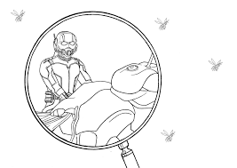 Small Picture Ant man coloring page by Kaskad93 on DeviantArt