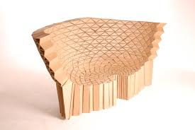 Corrugated Cardboard Furniture Cardboard Furniture From Lazerian Studio Despoke