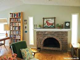 G Fireplace Paint Ideas Color For Living Room With Brick  Colors That Go