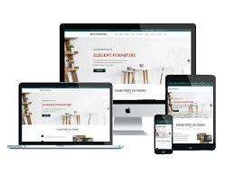 Free Responsive Website Templates Enchanting ET Furniture Free Responsive Furniture Website Templates