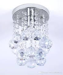 flush crystal chandelier mini style 1 light flush mount crystal chandelier spiral rain drop crystal lighting flush crystal chandelier