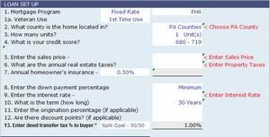 Conventional Mortgage Calculator Calculators For Pennsylvania Home Buyers And Sellers