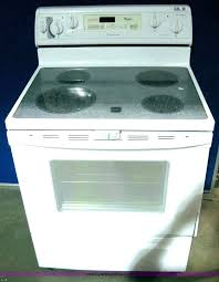 glass top electric stove burner not working whirlpool stove top whirlpool whirlpool glass top stove burner
