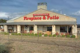 address 8 sierra way at ih 35 georgetown texas 78626 s georgetownfire patio com phone 512 863 8574 business hours m f 9 30 6pm sat 9 30 5pm