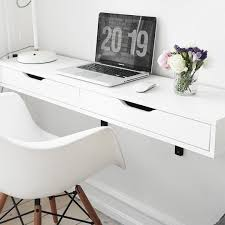 ikea furniture desks. Ekby Alex/Ekby Valter Shelf With Brackets, $54.99 From IKEA.The Best Wall Mounted Desks And Tables \u2014 Annual Guide Ikea Furniture S