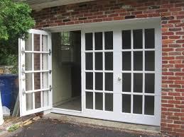 french glass garage doors. French Door Style Garage With Pass Through Door. I May Actually Add A Now. Glass Doors