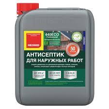 <b>Антисептик для наружных</b> работ Neomid-440 Eco концентрат 1:9 ...