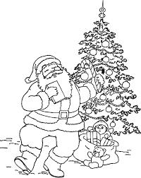 Leuk Voor Kids De Kerstman Bij De Kerstboom