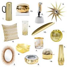 Small Picture Color Pop Gold Home Accessories Decor Design Necessities