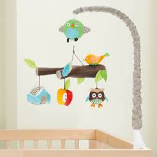 skip hop treetop friends musical crib mobile  baby  pinterest