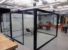 view glass office wall system glass